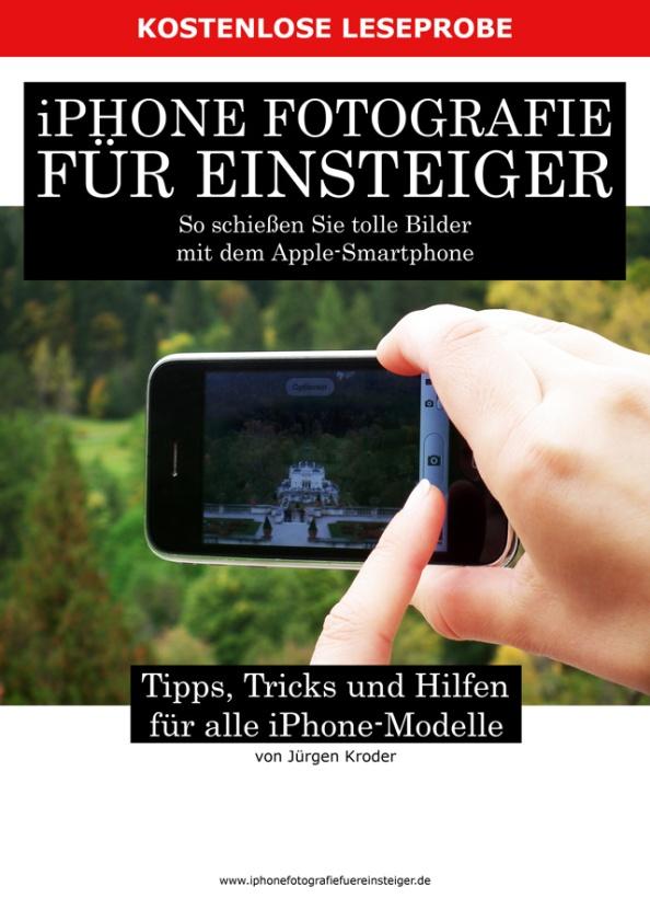 Packshot eBook iPhone Fotografie für Einsteiger Leseprobe